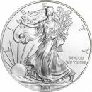 1991 American Silver Eagle - BU