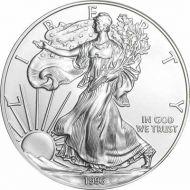 1996 American Silver Eagle - BU