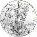 2002 American Silver Eagle - BU