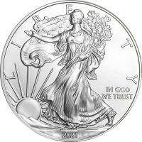 2021 American Silver Eagle - BU