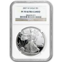 2007 American Silver Eagle - NGC PF 70