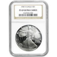 1987 American Silver Eagle - NGC PF 69