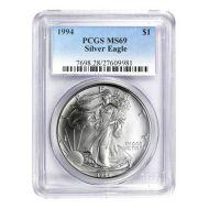 1994 American Silver Eagle - PCGS MS 69