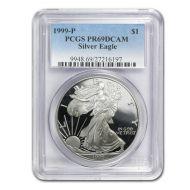 1999 American Silver Eagle - PCGS PF 69