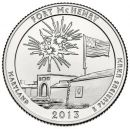 2013 Fort McHenry - D Roll (40 Coins)