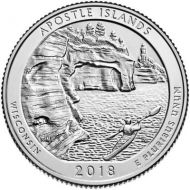 2018 Apostle Island - S Roll (40 Coins)