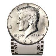 2021 D Kennedy Half Dollar - BU Roll