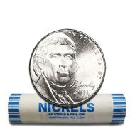 2011 P Jefferson Nickel - BU Roll