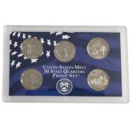 2000 United States 50 State Quarter Proof Set - Coins Only