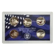 2005 United States 50 State Quarter Proof Set - Coins Only