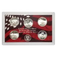 2006 United States 50 State Quarter Silver Proof Set - Coins Only