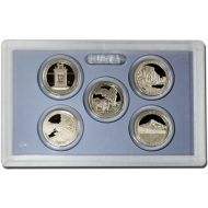 2010 America the Beautiful Quarter Proof Set - Coins Only