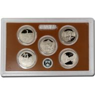 2011 America the Beautiful Quarter Proof Set - Coins Only