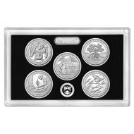 2020 America the Beautiful Quarter Silver Proof Set - Coins Only