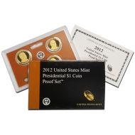 2012 Presidential Dollar Proof Set