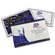 2001 United States 50 State Quarter Proof Set
