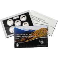 2014 America the Beautiful Quarter Silver Proof Set