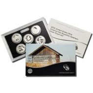 2015 America the Beautiful Quarter Silver Proof Set