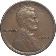 1909 Lincoln Wheat Penny - XF (Extra Fine)
