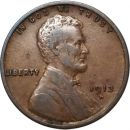1913 D Lincoln Wheat Penny - VF (Very Fine)