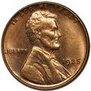 1935 Lincoln Wheat Penny - Brilliant Uncirculated
