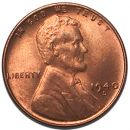 1940 D Lincoln Wheat Penny - Brilliant Uncirculated