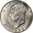 1972 D Eisenhower Dollar - Brilliant Uncirculated