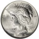1922 D Peace Dollar - (BU) Brilliant Uncirculated