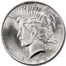 1925 Peace Dollar - (BU) Brilliant Uncirculated