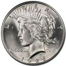 1926 D Peace Dollar - (BU) Brilliant Uncirculated