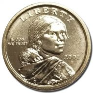 2001 P Sacagawea Dollar - Brilliant Uncirculated