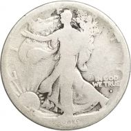 1916 D Walking Liberty Half Dollar - Good