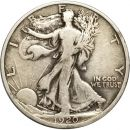 1920 D Walking Liberty Half Dollar - VF (Very Fine)