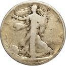 1921 D Walking Liberty Half Dollar - G (Good)
