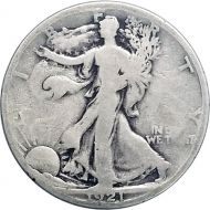 1921 S Walking Liberty Half Dollar - VG (Very Good)