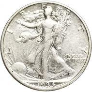 1934 Walking Liberty Half Dollar - XF (Extra Fine)