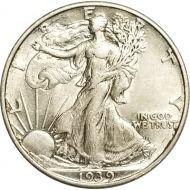 1939 Walking Liberty Half Dollar - XF (Extra Fine)
