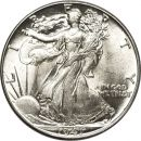 1941 Walking Liberty Half Dollar - AU (Almost Uncirculated)