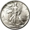1943 Walking Liberty Half Dollar - AU (Almost Uncirculated)