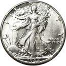 1944 D Walking Liberty Half Dollar - AU (Almost Uncirculated)