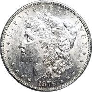 1879 Morgan Dollar -  (AU) Almost Uncirculated