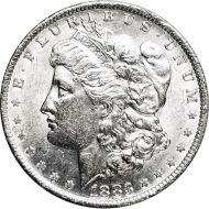 1883 O Morgan Dollar -  (AU) Almost Uncirculated