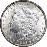 1885 Morgan Dollar -  (AU) Almost Uncirculated