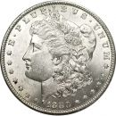 1880 Morgan Dollar - (BU) Brilliant Uncirculated