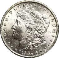 1884 O Morgan Dollar - (BU) Brilliant Uncirculated