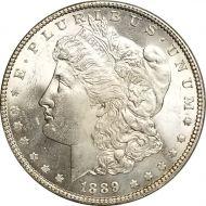 1889 Morgan Dollar - (BU) Brilliant Uncirculated