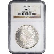 1880 Morgan Dollar - NGC MS 63