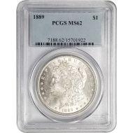 1889 Morgan Dollar - PCGS MS 62