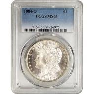 1884 O Morgan Dollar - PCGS MS 65