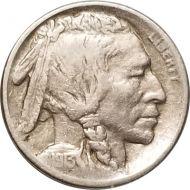 1913 S Buffalo Nickel Type 1 - F (Fine)